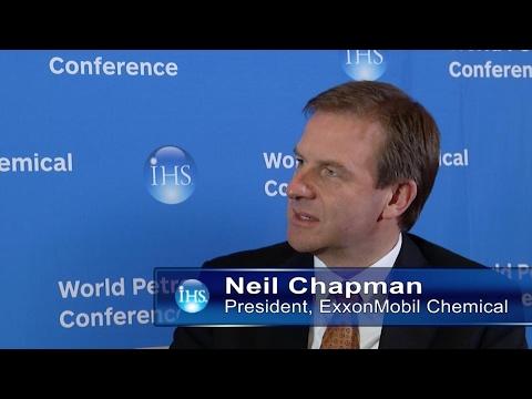 Neil Chapman, President, ExxonMobil Chemical