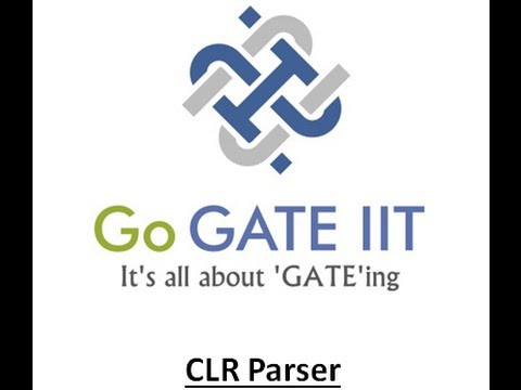 Bottom Up Parser : CLR Parser
