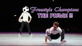 Insane football skills -  Performance - World Champions ( Freestyle Champions )