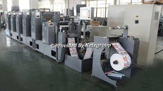 Intermittent Rotary Label Offset Printing Machine