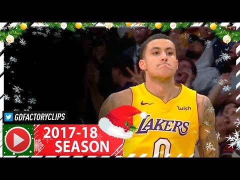 Kyle Kuzma Full Highlights vs Warriors (2017.12.18) - 25 Pts, 6 Reb off the Bench