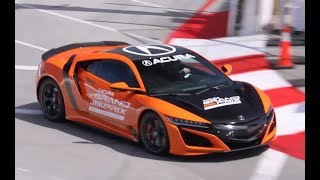 homepage tile video photo for 2019 Acura NSX on Long Beach Grand Prix Circuit!