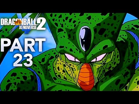 IMPERFECT CELL & THE ANDROIDS! | Dragon Ball Xenoverse 2 - Walkthrough Part 23, Gameplay PS4