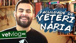 Como é a faculdade de VETERINÁRIA? | #VetVlog #02