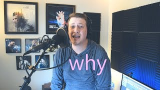 "LIVE Vocal Cover: ""Why?"" - by Devin Townsend (Take #7, Not Pre-recorded)"