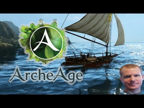 Archeage Funny Merchant Ship Destroying: Totemoszlop, Imregaming and Slapec LIVE #11