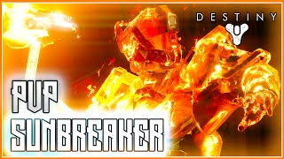 Destiny The Taken King Sunbreaker Subclass PVP Gameplay - Sum Of All Tears Medal