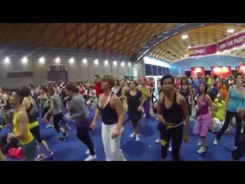 RIMINI WELLNESS 2014 : INSIDE the PEOPLE of ZUMBA masterclass with BETO PEREZ
