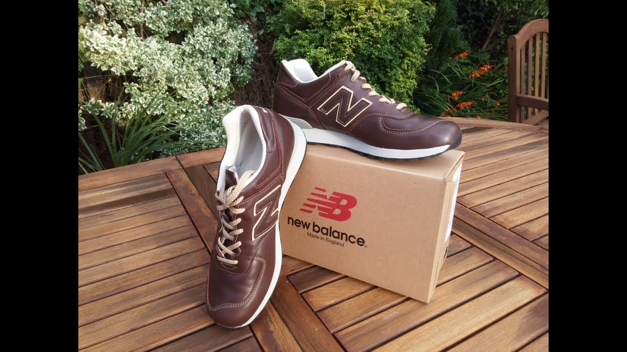 premium selection b0b8f 55a9c £18 New Balance 576 Limited Edition unboxing | 4K