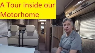 A tour inside our Swift Bolero 714SB Motorhome and a Cheshire Cat...
