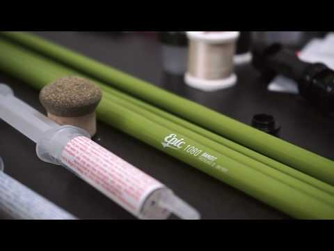 How To Build  A Fly Rod - Fly Rod Build With The Epic