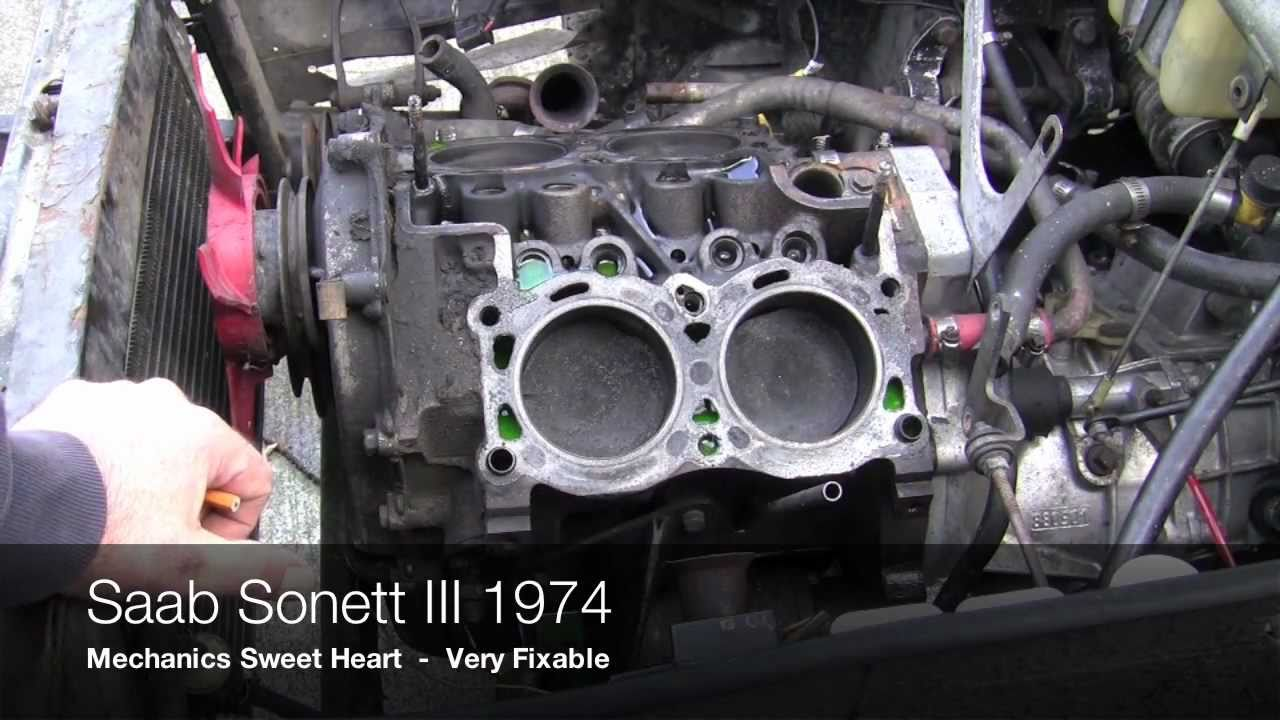 Saab For Sale >> 1974 Saab Sonett III Part 2 - YouTube