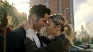 Lucifer 2x12 Lucifer and Chloe Hug Season 2 Episode 12