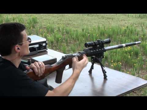 Custom Mosin Nagant Heavy Barrel Sniper Rifle