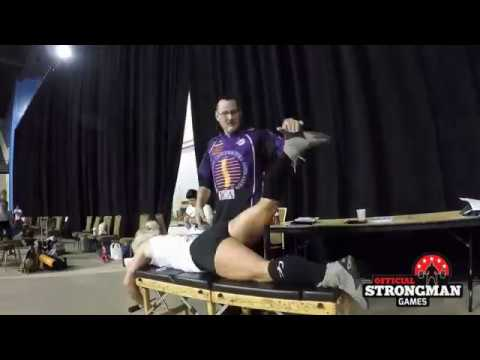 Official Strongman Games Chiropractor