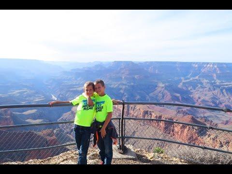 🔭 Grand Canyon, Arizona 🌄 Kletter- Abenteuer in erschreckender Höhe - Weltreise mit 4 Kindern USA