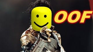 MICHAEL JACKSON BUT ITS ROBLOX DEATH SOUND