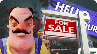 Minecraft PRANK | HELLO NEIGHBOR GOES CRAZY BECAUSE HIS HOUSE GOES UP FOR SALE | Custom Roleplay