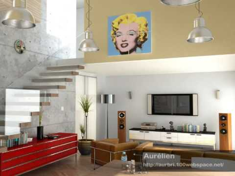 Living room design modern concepts youtube for Modern living room concepts