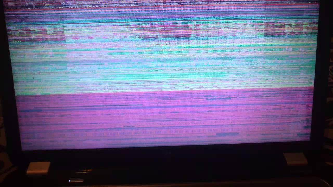 почему рябит монитор компьютера