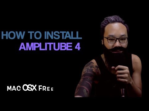 How To Install Amplitube 4 Mac OSX Free