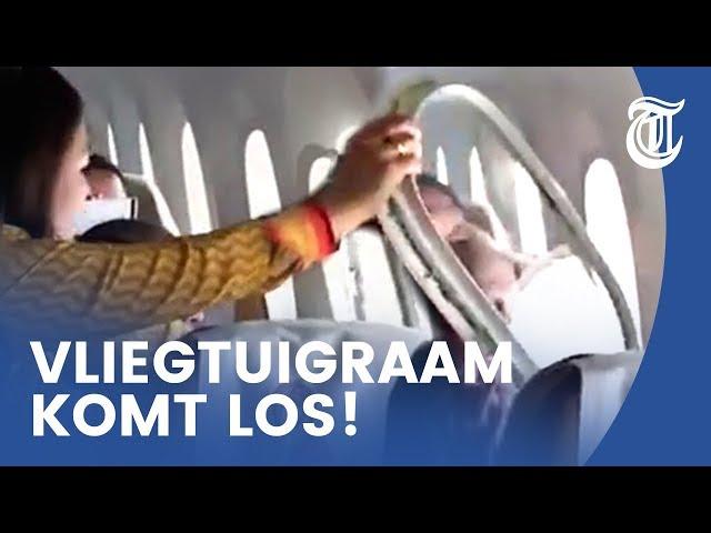 Nachtmerrie: vliegtuig valt uit elkaar in de lucht