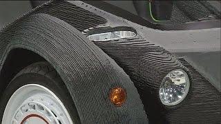 Auto aus dem 3D-Drucker - hi-tech