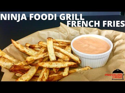 ninja-foodi-grill-french-fries