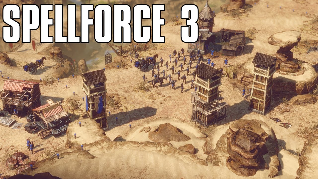 Spellforce 3 Beta Gameplay - The Next Fantasy RTS is Here ...  Spellforce 3 Be...