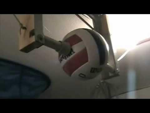 Amazing Vanishing Volleyball Trainer Youtube