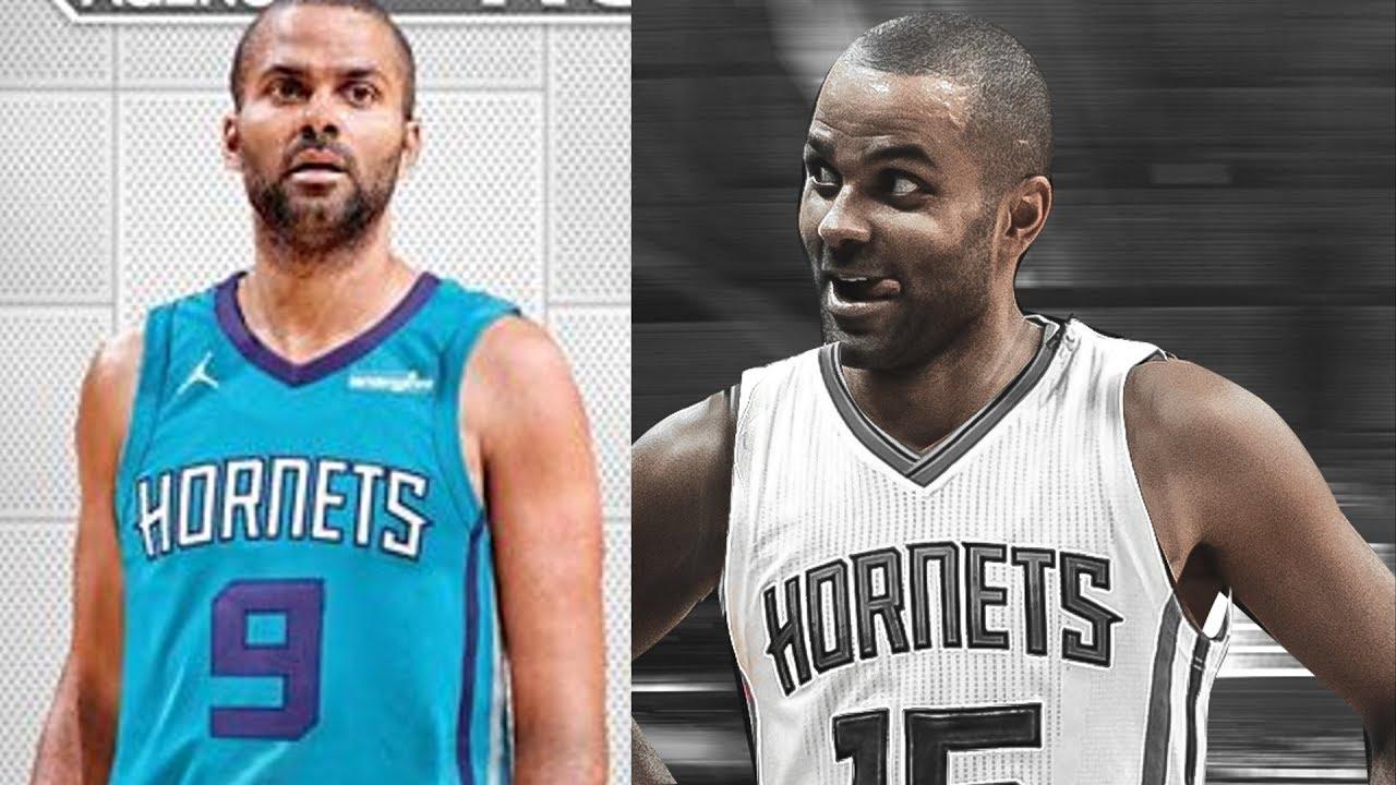 online store d3373 68b12 Tony Parker Signs Hornets! Kawhi Chemistry! 2018 NBA Free Agency