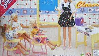 Обзор мебель для Барби. ШКОЛА Gloria