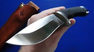 Охотничий нож Katz Wild Kat K103(Приобрести нож можно тут: http://rezat.ru/ohotnichi_nozhi/ohotnich_i_nozhi/nozh_s_fiksirovannym_klinkom_wild_kat_k103., 2015-12-24T06:33:20.000Z)