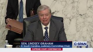 Sen Lindsey Graham (R-SC) Closing Statement at Confirmation Hearing for Judge Amy Coney Barrett