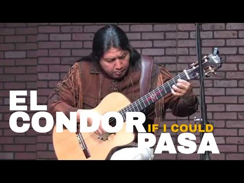 El Condor Pasa ' If I Could ' | Guitar and Pan Flute Best Version ( Live )
