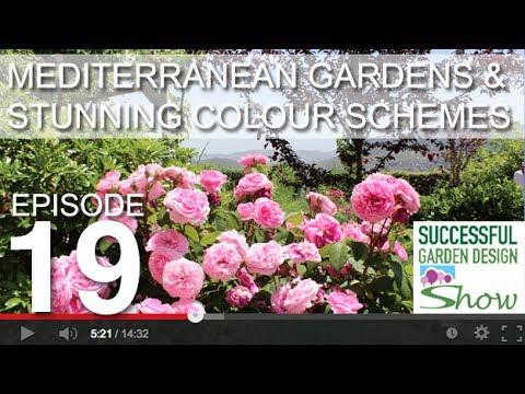 Garden Design Show 19 Mediterranean Garden Tour Adding The Wow