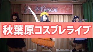 5人組鉄道アイドルユニット『ステーション♪』 秋葉原神タワーにて、ハロウィン衣装でのライブです。 舞台裏⇒OPSE⇒レッツゴ―鉄道アイドルまでちょっぴり公開!