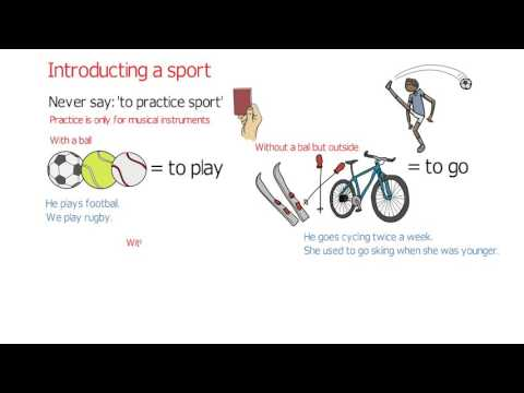 Sports Verbs: Do, Play And Go (English Vocabulary Lessons)