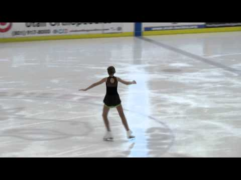 1st Place Ice Skating Intermnt. Winter Classic Freestyle 1 Group C 2015
