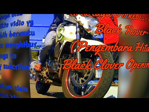 Liryc Black Rover (pengembara Hitam)_opening Black Clover-Vickeblanka