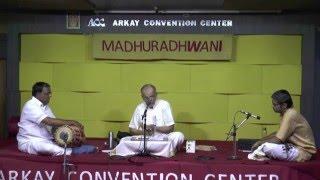 "Madhuradhwani-Music Season Concert series-""Muthuswamy Dhikshitar-Lec dem by G S Mani"