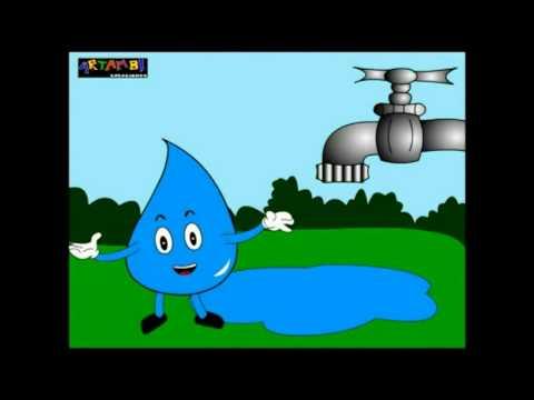 Cierra el ca o dibujos animados youtube for Fondos animados de agua