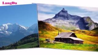 Alps Mountains Scenes, travel video HD | Amazing photos of Alps Mountains