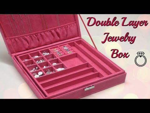 Double Layer Jewelry Box Review!