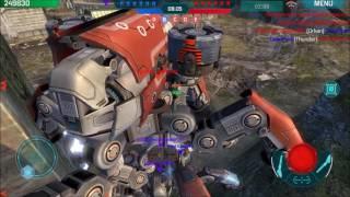 War Robots   Epic Raijin Squad   Raijin Montage   Fun On Test Server With GODZ Clan