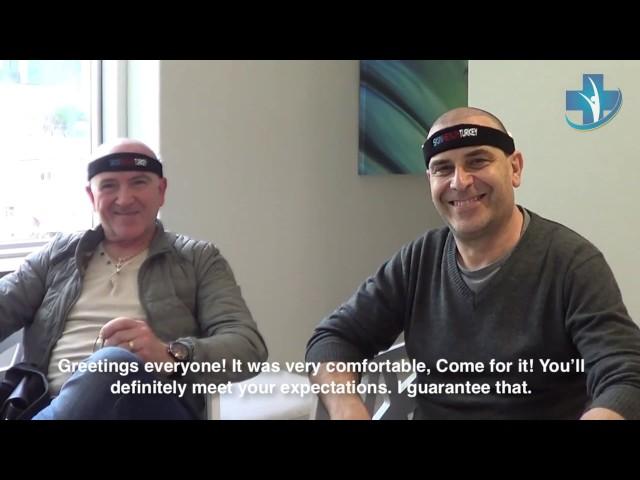 Hair Transplantation Turkey - Mr. Guido&Sansone Testimonials - Skin Health Turkey / Dr. Oyku Celen