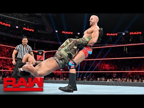 No Way Jose vs. Cesaro: Raw, July 8, 2019