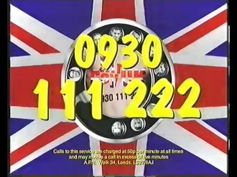 Mr Gay UK Chatline TV Advert - 1998