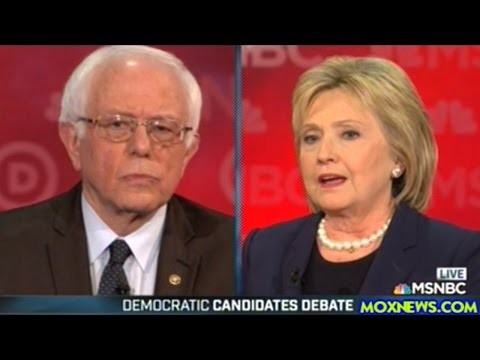 HILLARY CLINTON vs BERNIE SANDERS  New Hampshire Democratic Presidential Debate (FULL Debate)