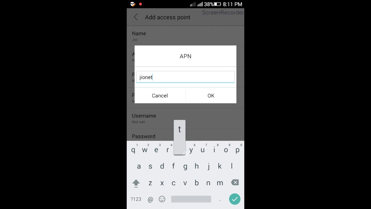 Jio Hack New Faster Apn Settings 2017 Youtube